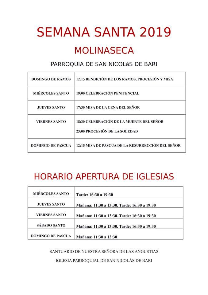Semana Santa 2019 en Molinaseca 2
