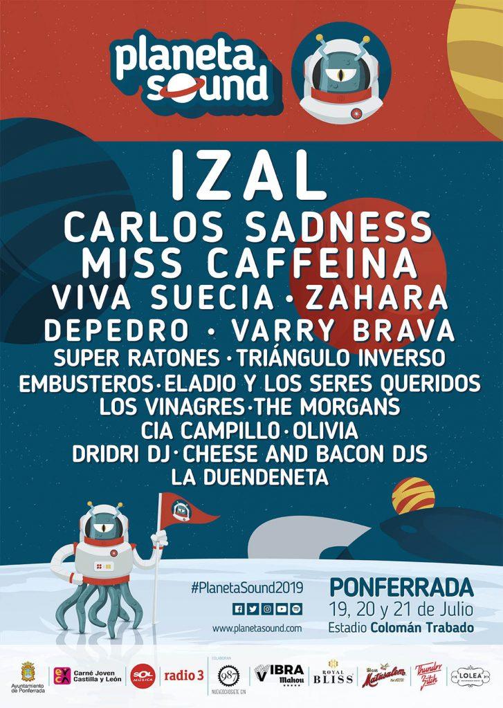 Planeta Sound 2019 - Así queda el cartel del festival ponferradino 2