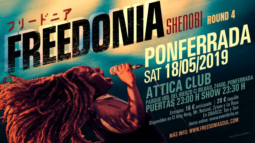 Freedonia traen buen soul y funk a la Sala Attica 2