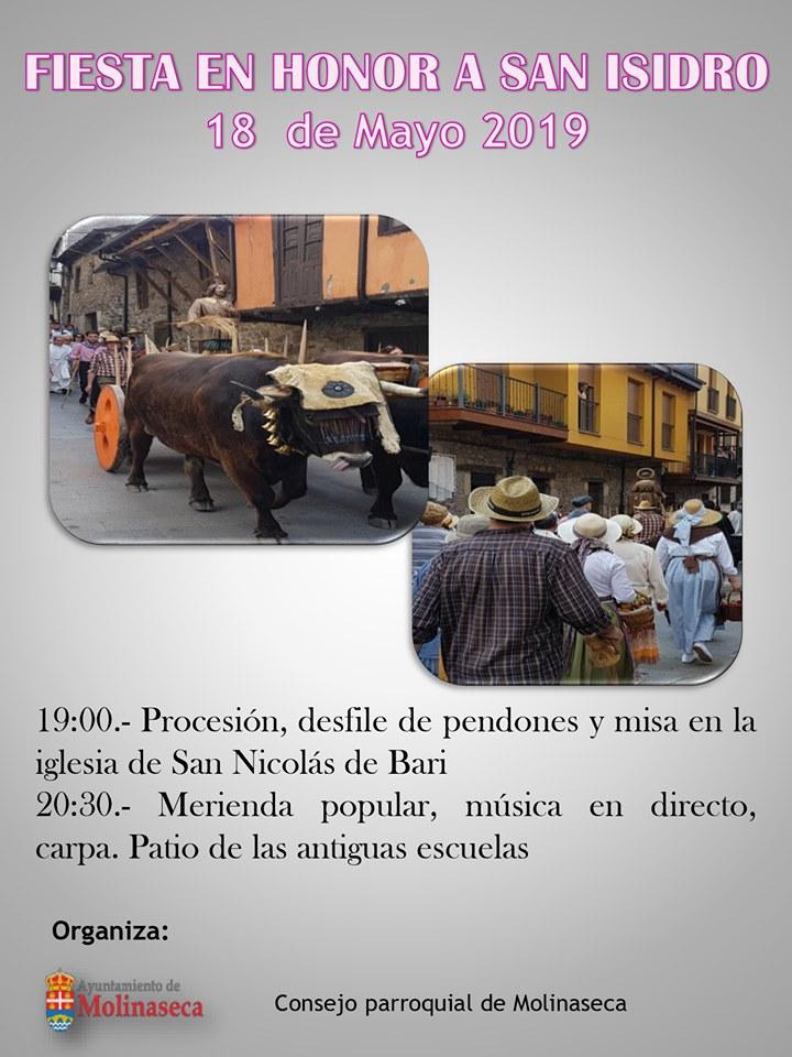Fiestas en honor a San Isidro 2019 en Molinaseca 2