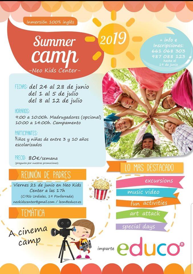 Campamentos y campus de verano 2019 en Ponferrada y el Bierzo 7