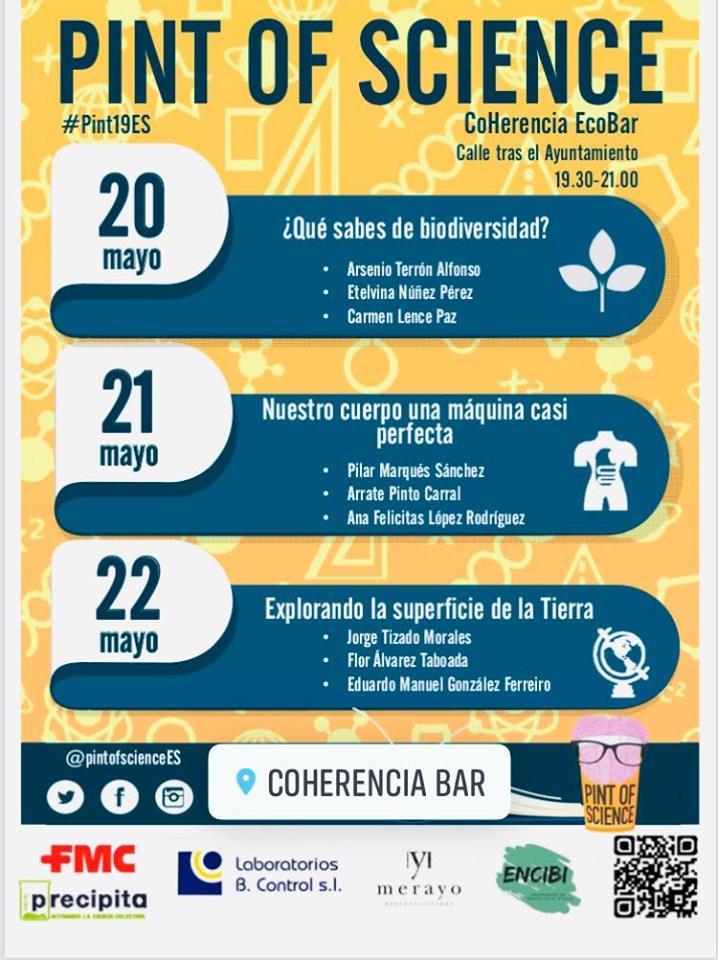 Coherencia Bar se une al Pint of Science con la intervención de nueve investigadores 2
