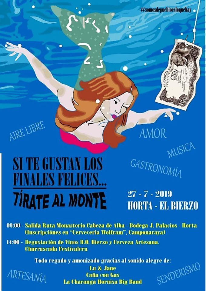 El festival Tírate AL MONTE se celebrará en Horta el 27 de julio 2