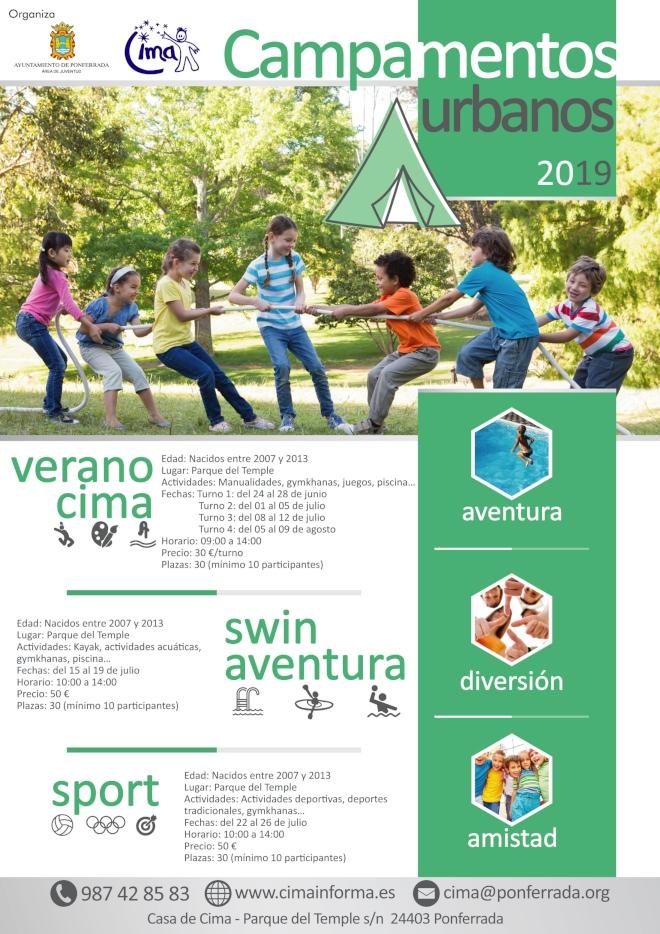 Campamentos y campus de verano 2019 en Ponferrada y el Bierzo 11