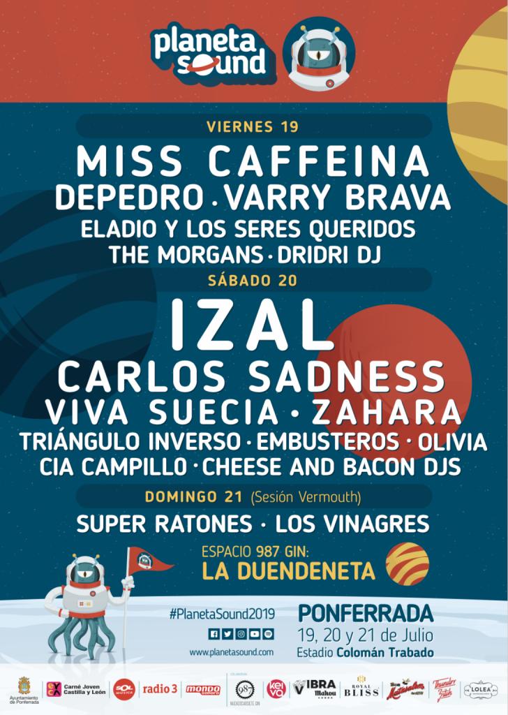 El festival ponferradino Planeta Sound desvela como será el cartel por días 2