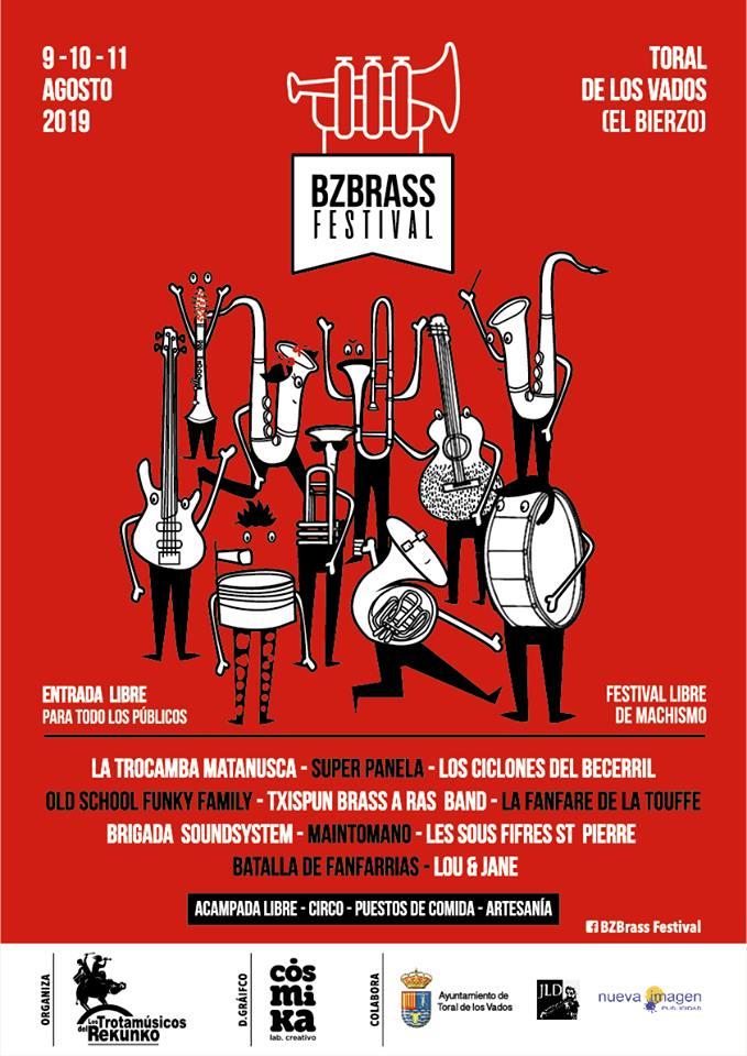 EL Festival BZBrass volverá en agosto a Toral de los Vados 2
