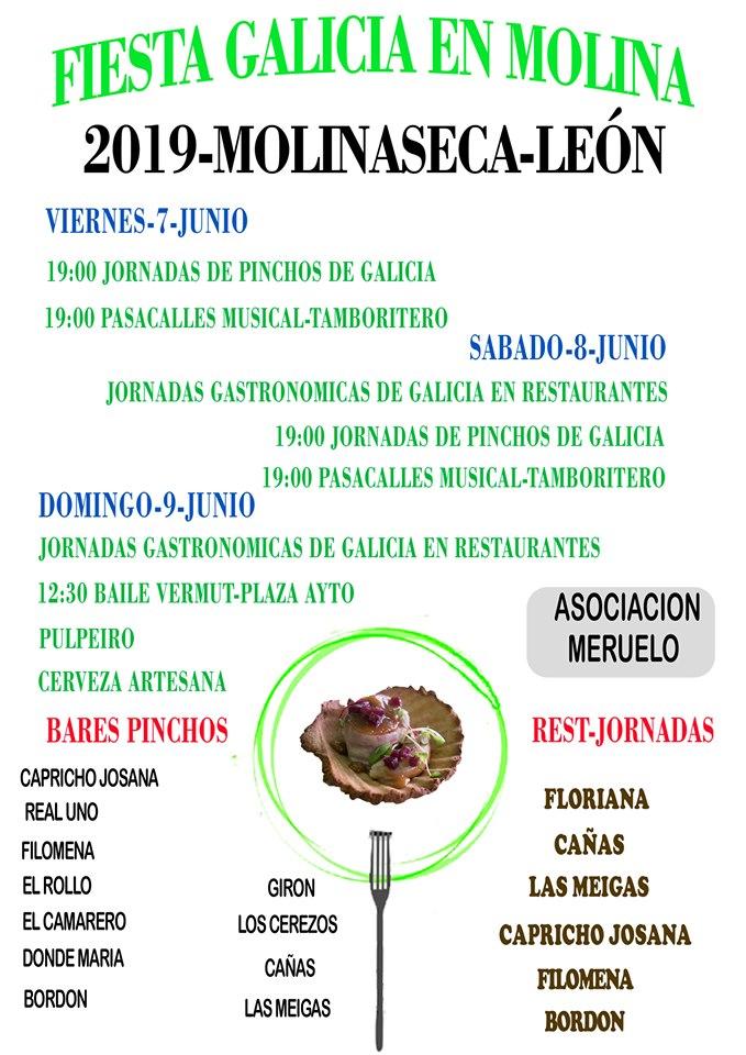 Molinaseca dedica el fin de semana a Galicia con pinchos, jornadas gastronómicas y baile vermouth 2