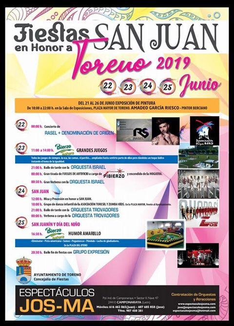 Toreno celebra las fiestas de San Juan 2019 a lo grande 2