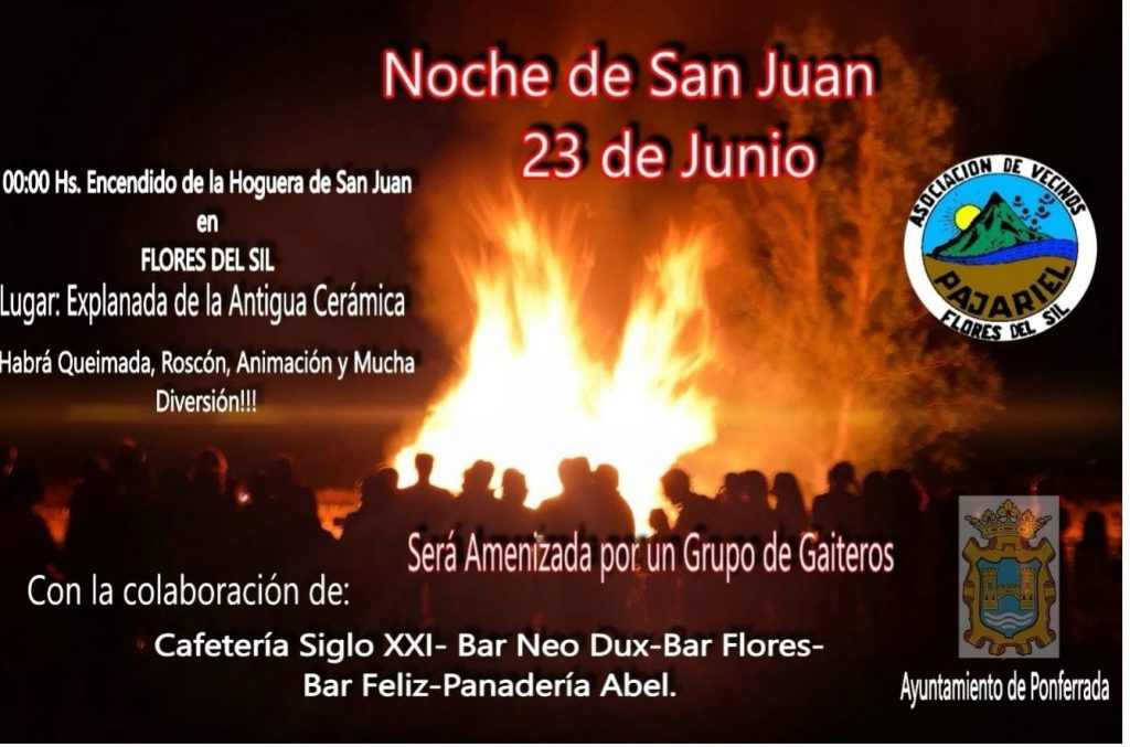 Hogueras de San Juan en el Bierzo 2019 7