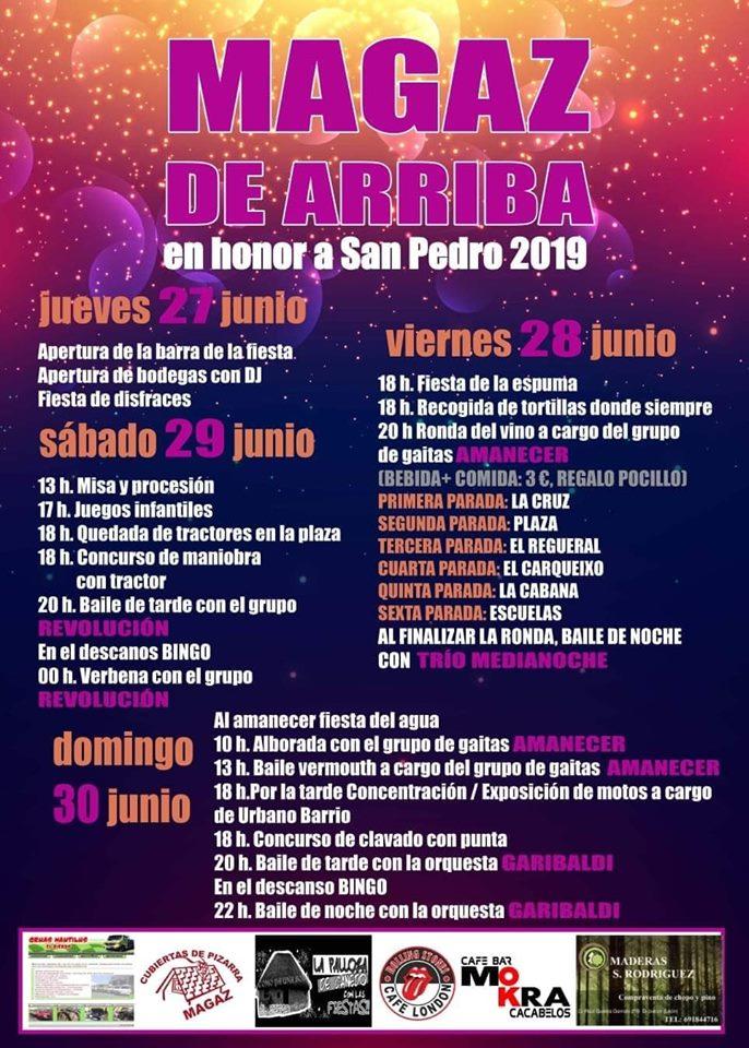 Fiestas en Magaz de Arriba en honor a San Pedro 2019 2