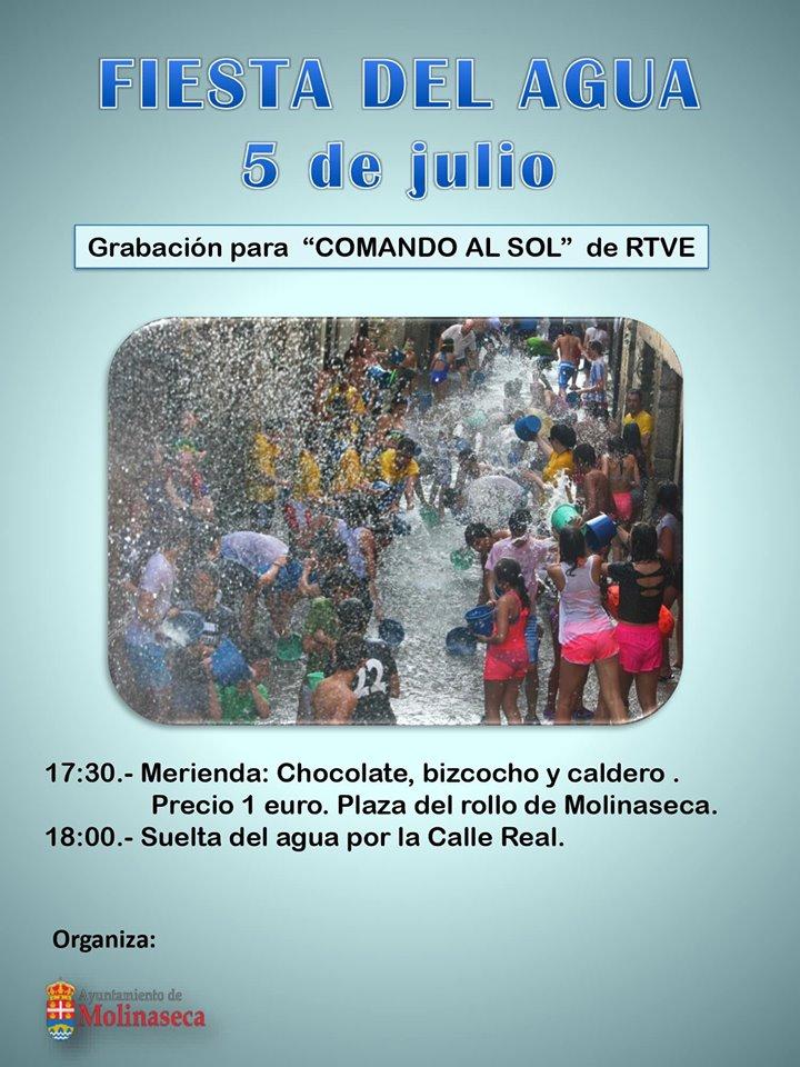 Molinaseca organiza una segunda 'Fiesta del Agua' el 5 de julio 2