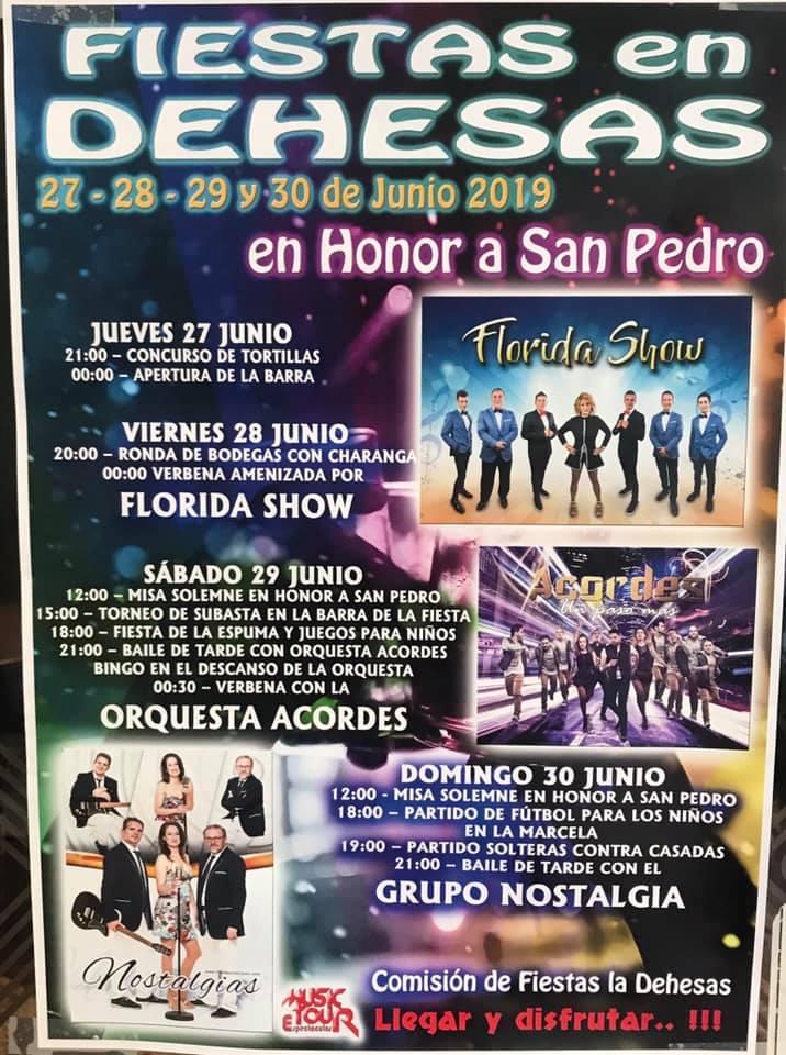 Grandes Fiestas de San Pedro en Dehesas 2