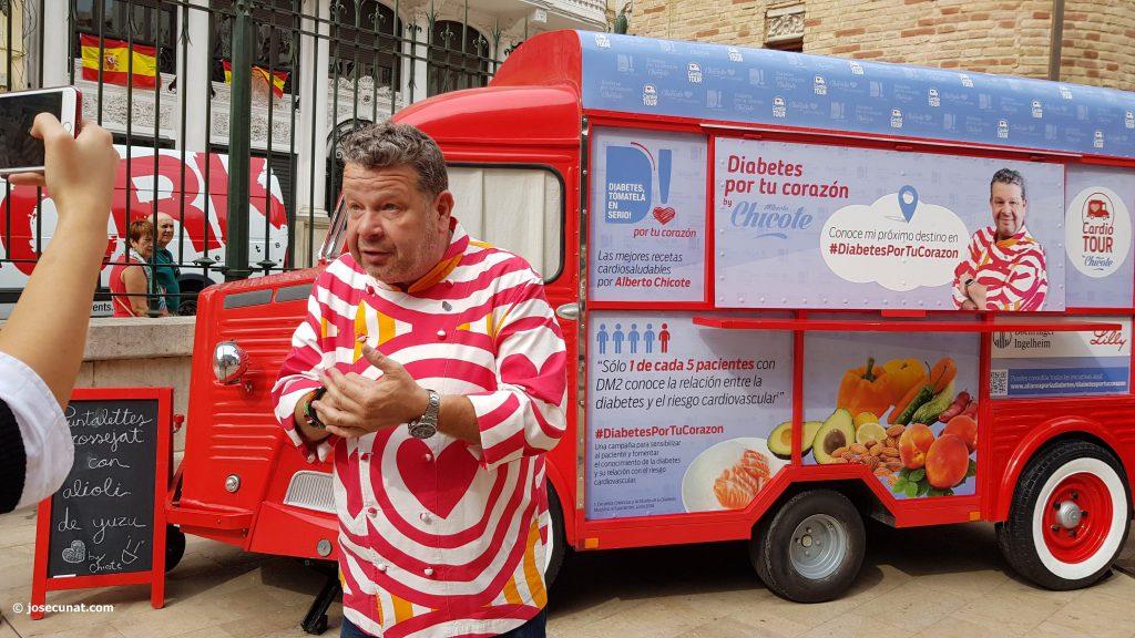 La Ruta Popular #DiabetesPorTuCorazón en la que participa Alberto Chicote se celebrará el próximo 27 de junio en Ponferrada 2