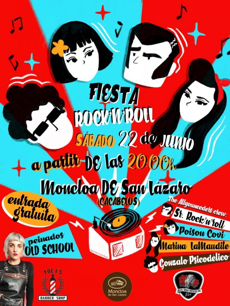 La Moncloa de Cacabelos organiza este sábado su gran Fiesta del Rock & Roll 2