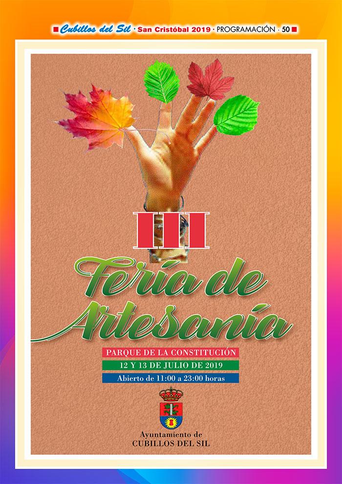 Fiestas de San Cristobal 2019 en Cubillos del Sil. Programa de actividades 10