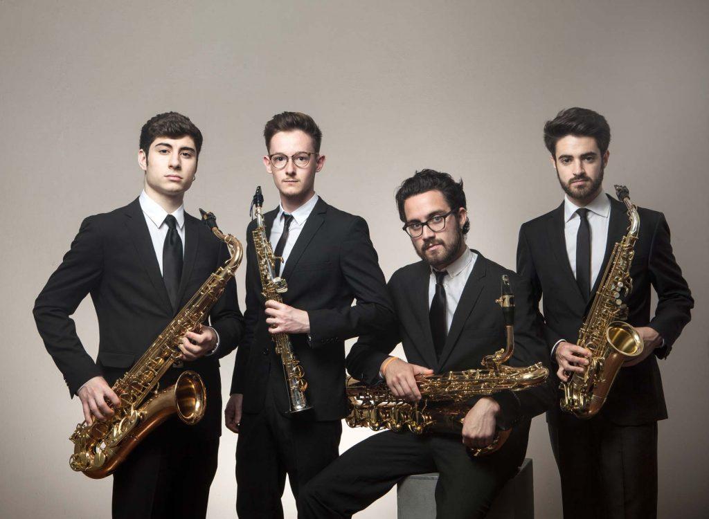 El cuarteto de saxofones Psaiko Quartet cierra la temporada de conciertos de Juventudes Musicales