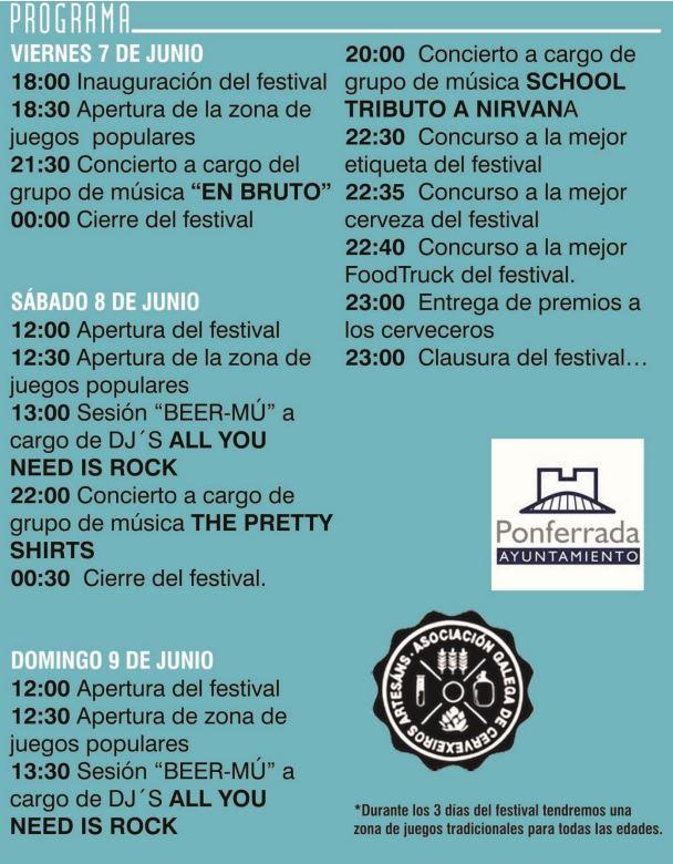 BIER ZO FEST, festival de la cerveza artesana, repite cita el fin de semana en el parque de el Plantío 2