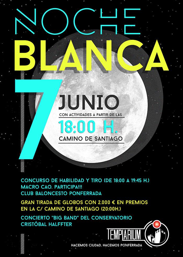 La Noche Blanca 2019 de Ponferrada prepara un viernes diferente con 2000€ en premios, concursos y mucho más 2