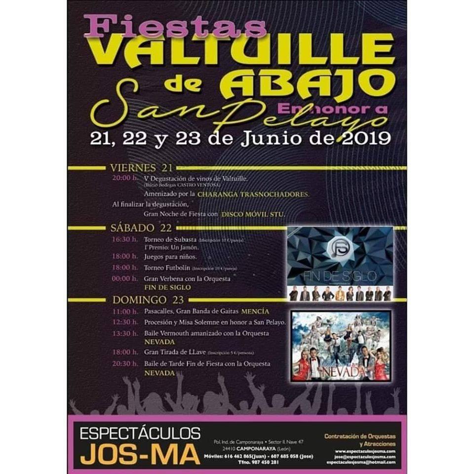 Fiestas de San Pelayo 2019 en Valtuille de Abajo 2