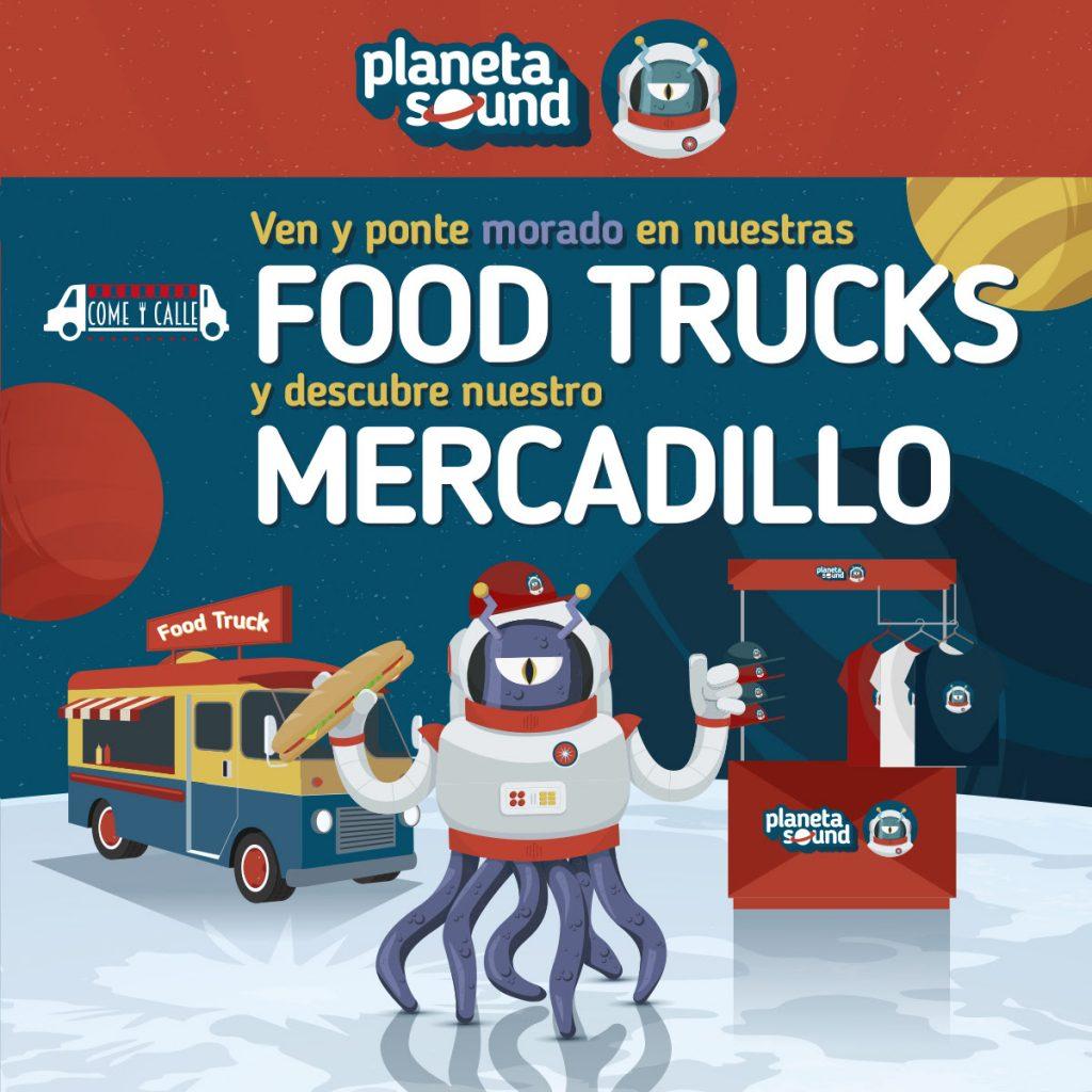 Come y Calle aterrizará con sus mejores propuestas gastronómicas en Planeta Sound. 2