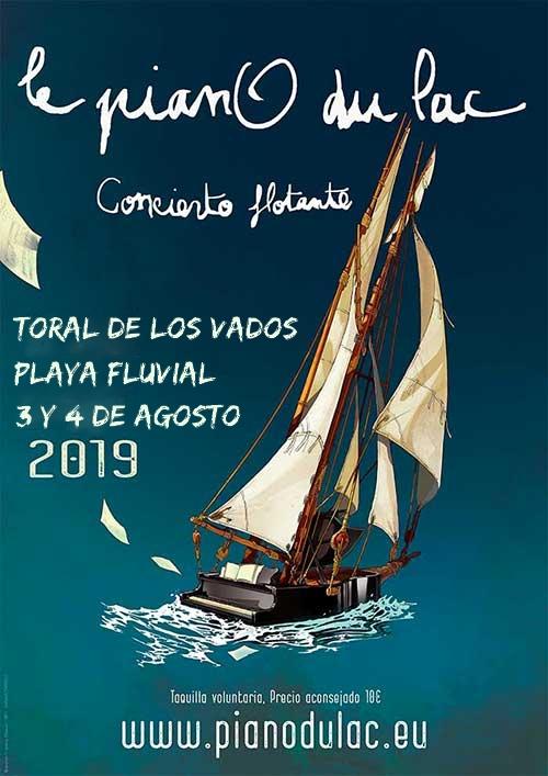 """El espectáculo """"Le pianO du Lac""""también flotará sobre las aguas de Toral de los Vados 2"""