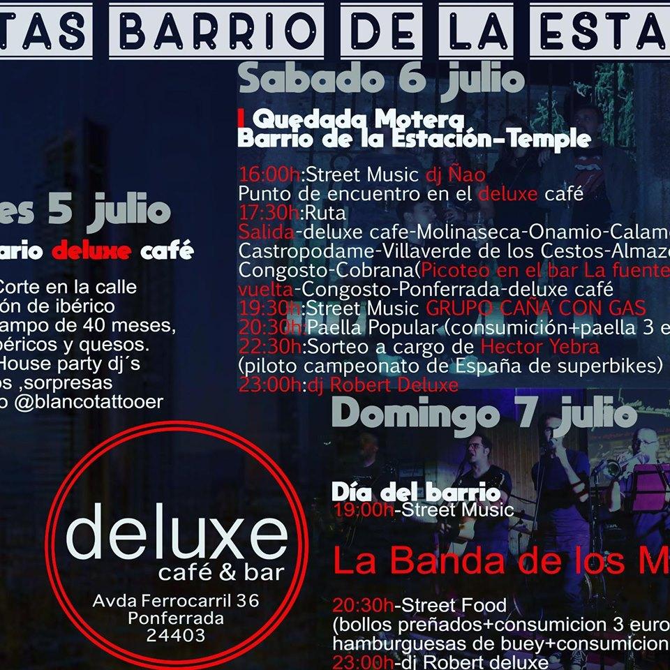 Grandes Fiestas de San Cristobal del barrio de la Estación. 5, 6 y 7 de julio 2
