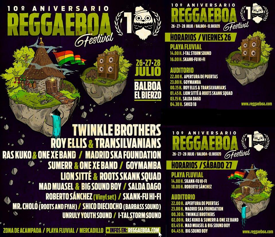 Reggaeboa 2019 cierra un mes de julio muy musical en el Bierzo 2
