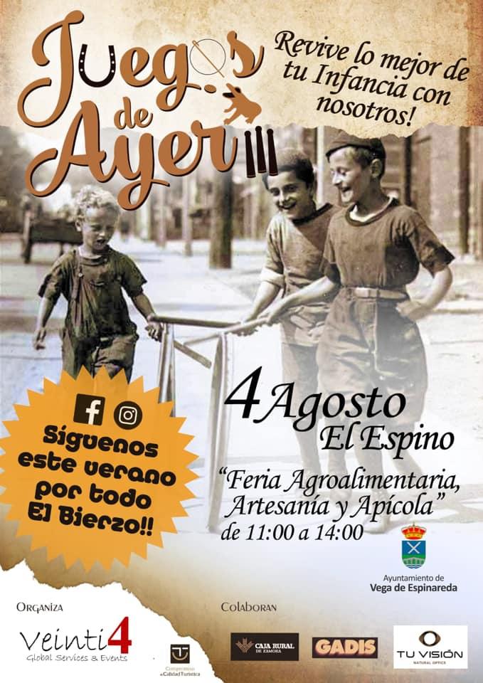 Feria Agroalimentaria, Apícola y Artesana de 2019 en el Espino el domingo 4 de agosto 3