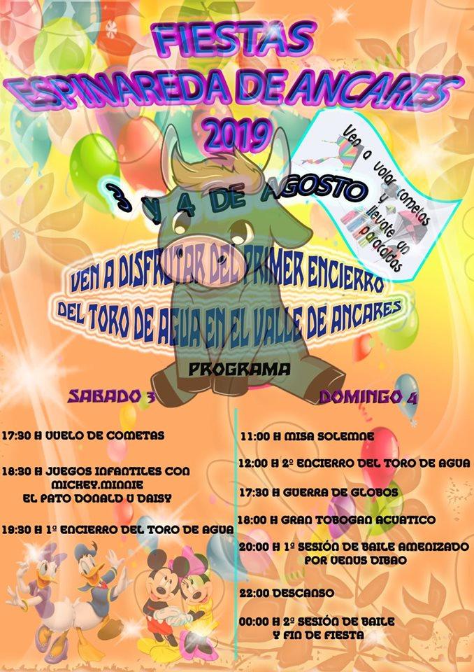 Fiestas en Pereda de Ancares. 3 y 4 de agosto 2