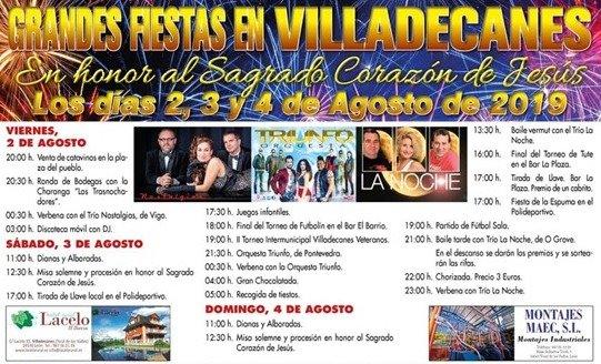 Fiestas en Villadecanes. 2 al 4 de agosto 2019 2