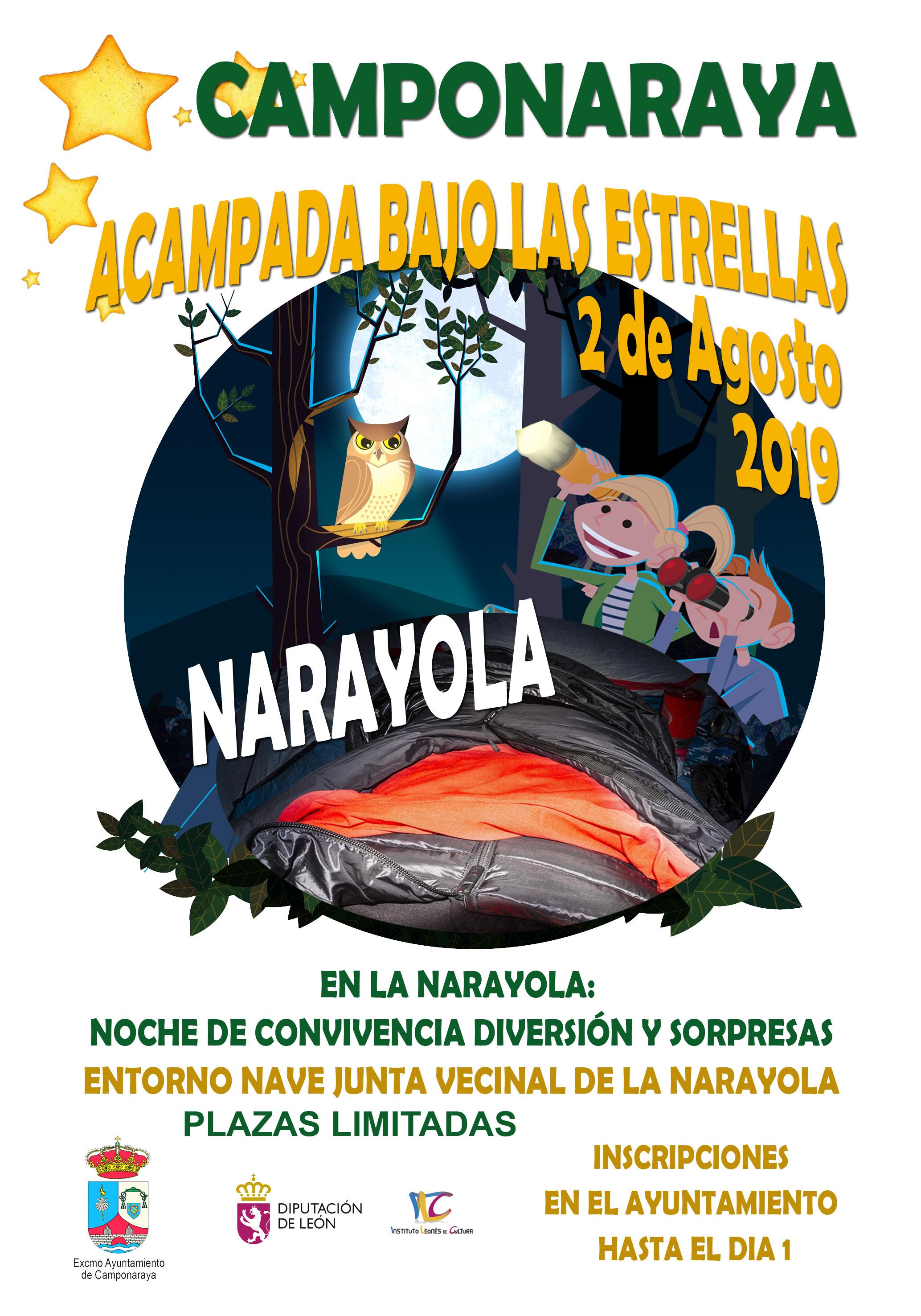 """Una noche de """"Acampada bajo las estrellas"""" en Narayola 2"""