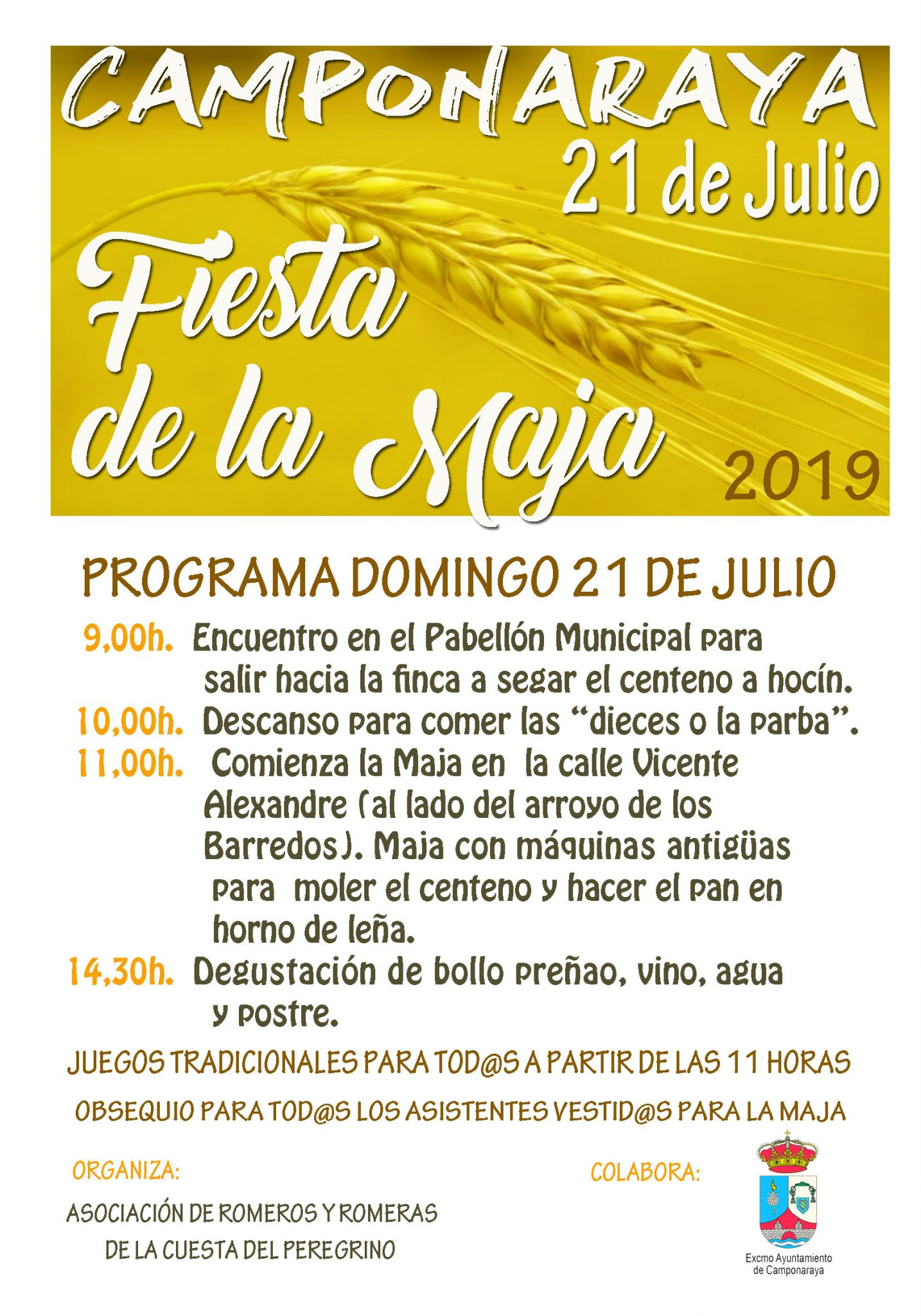 La Fiesta de la Maja de Camponaraya llega a su tercera edición 2