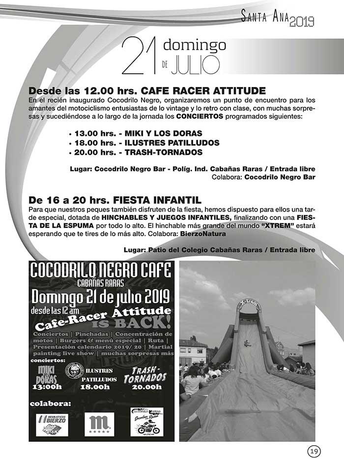 FIestas de Santa Ana en Cabañas Raras. 19 al 28 de julio 4