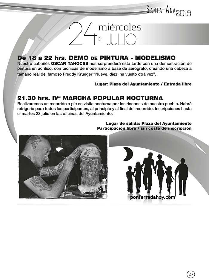 FIestas de Santa Ana en Cabañas Raras. 19 al 28 de julio 6