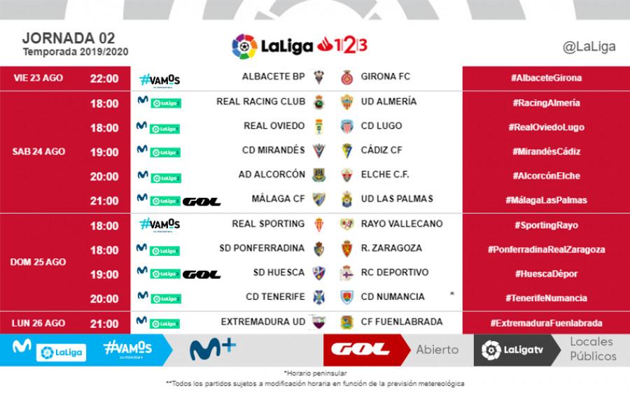 Horarios de los primeros partidos de la Ponferradina en el regreso a la la Liga 1|2|3| y donde verlos 2