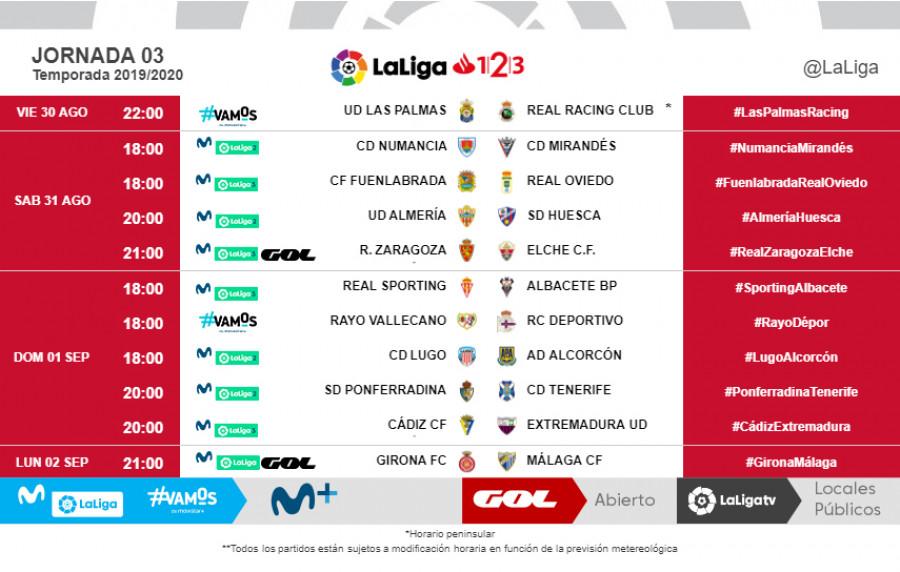 Horarios de los primeros partidos de la Ponferradina en el regreso a la la Liga 1|2|3| y donde verlos 3