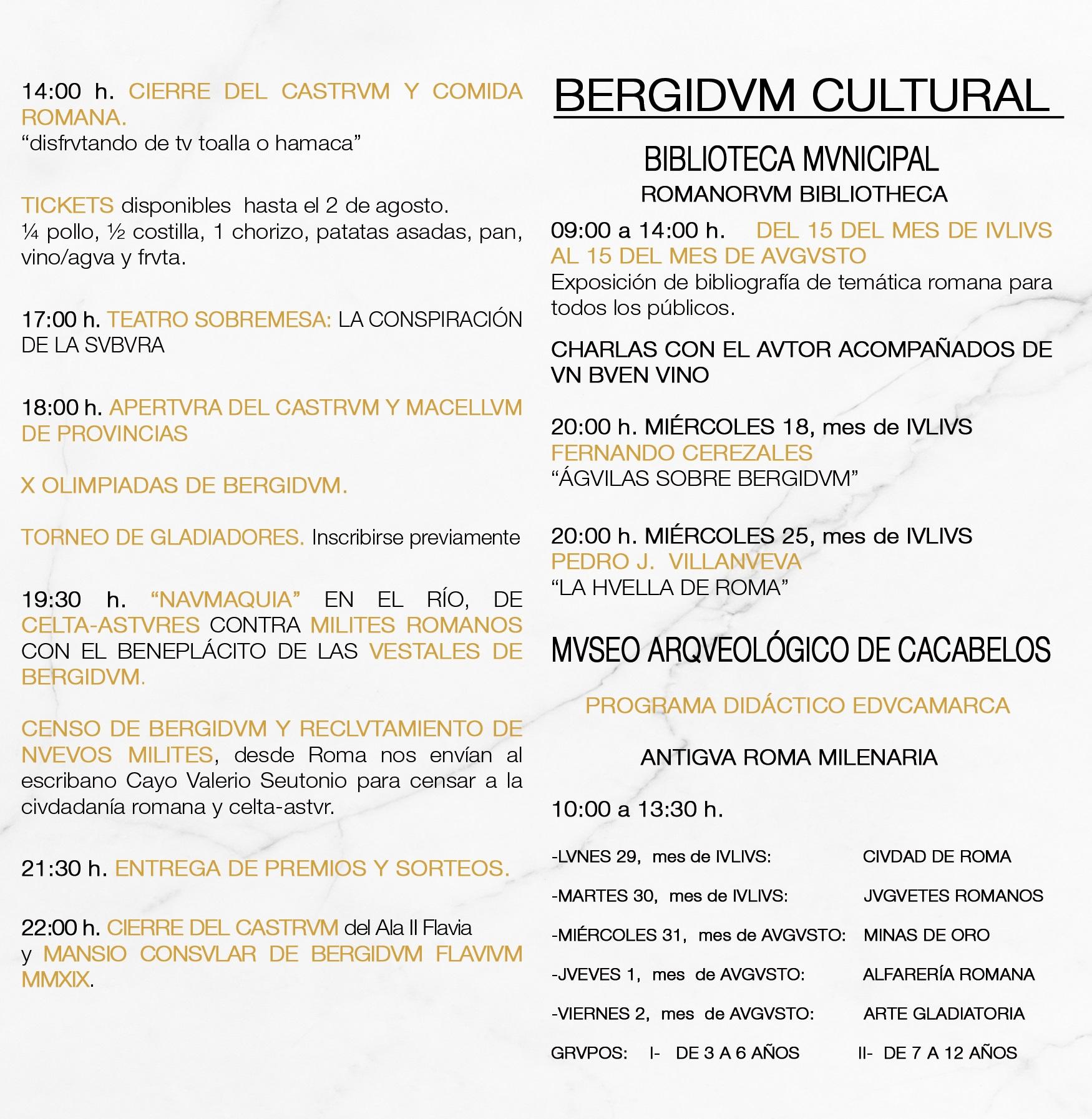 La fiesta romana Lvdvs Bergidvm Flavivm celebra su X aniversario 4