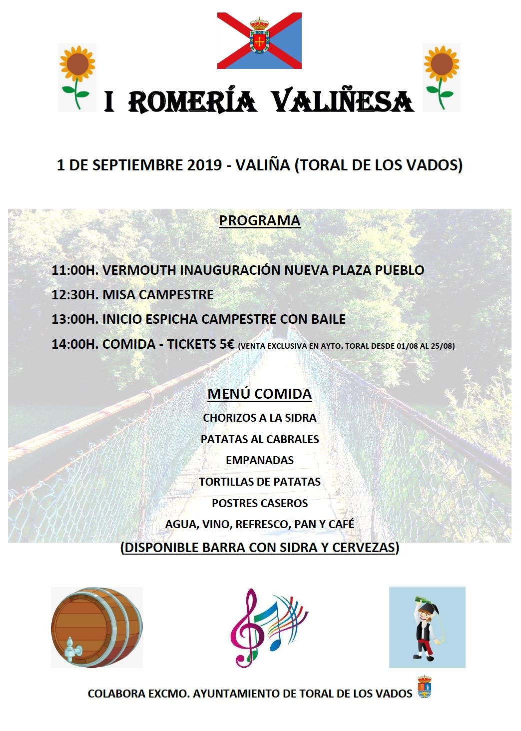 Valiña celebra su primera 'Romería Valiñesa' 2