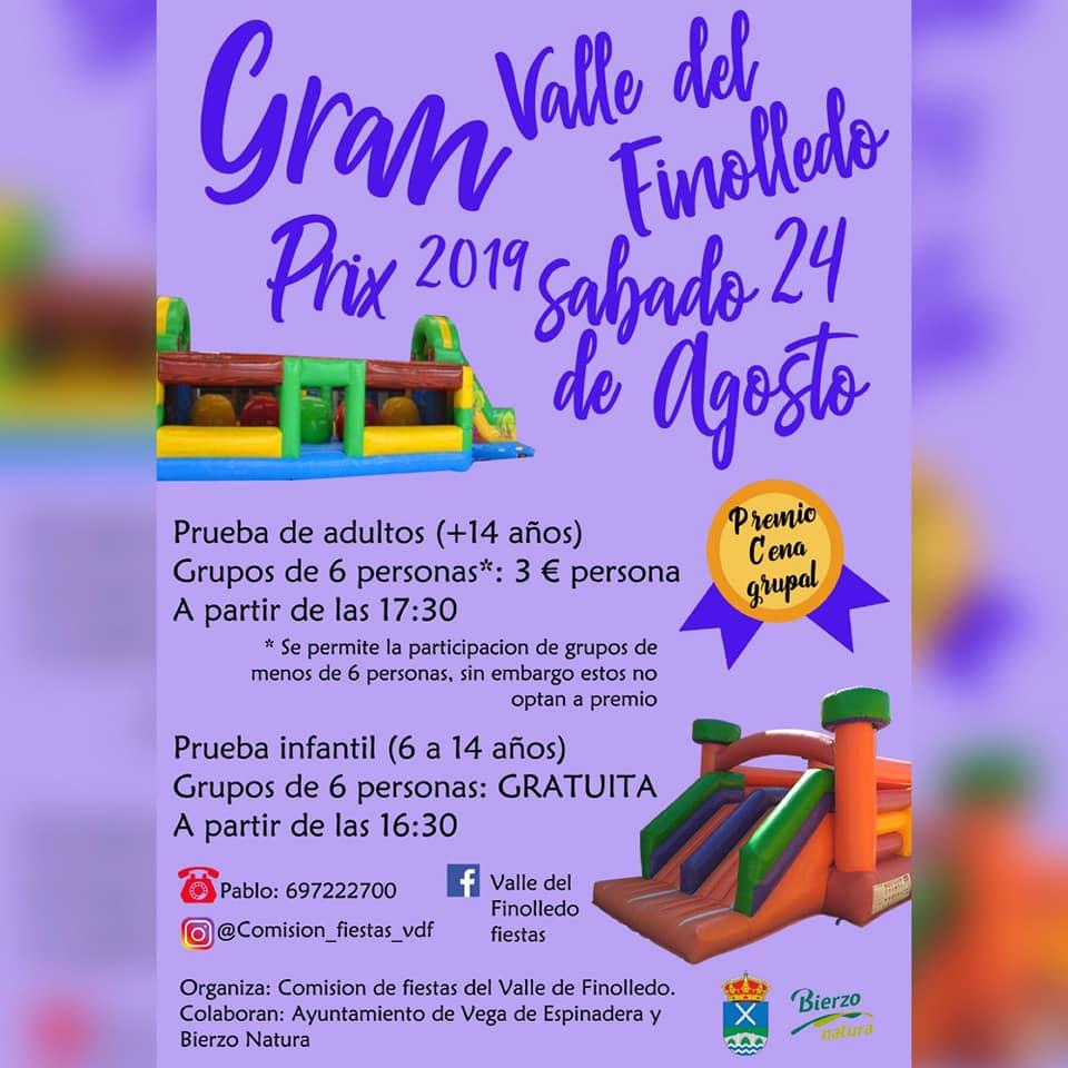 Grandes Fiestas en el Valle de Finolledo. 22 al 25 de agosto 2019 5