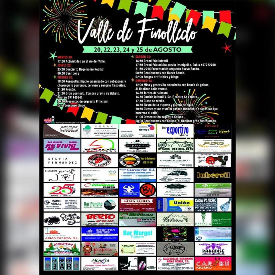 Grandes Fiestas en el Valle de Finolledo. 20 al 25 de agosto 3