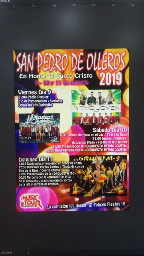 Grandes Fiestas en San Pedro de Olleros. 9 al 11 de agosto 2019 2