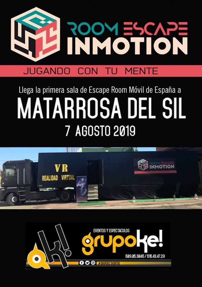 Matarrosa recibe mañana miércoles la primera Escape Room móvil de España 2
