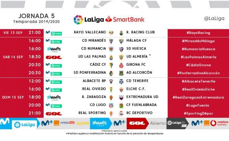 Horario para el partido Ponferradina -Alcorcón 2