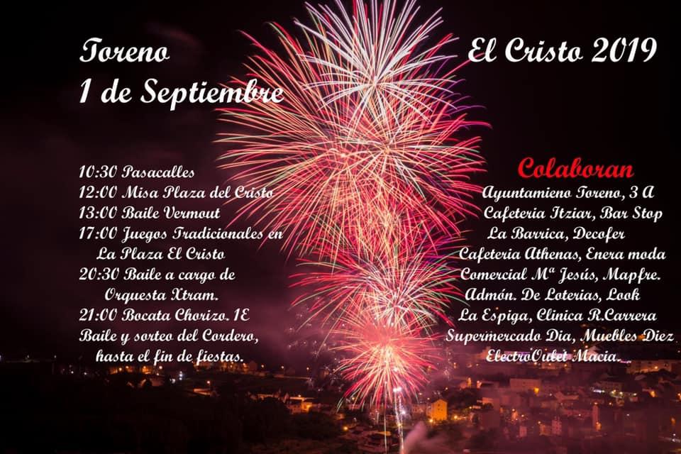 Toreno celebrará el Cristo el próximo 1 de septiembre por iniciativa vecinal 2