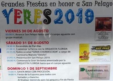 Grandes Fiestas de San Pelayo en Yeres 2019 2
