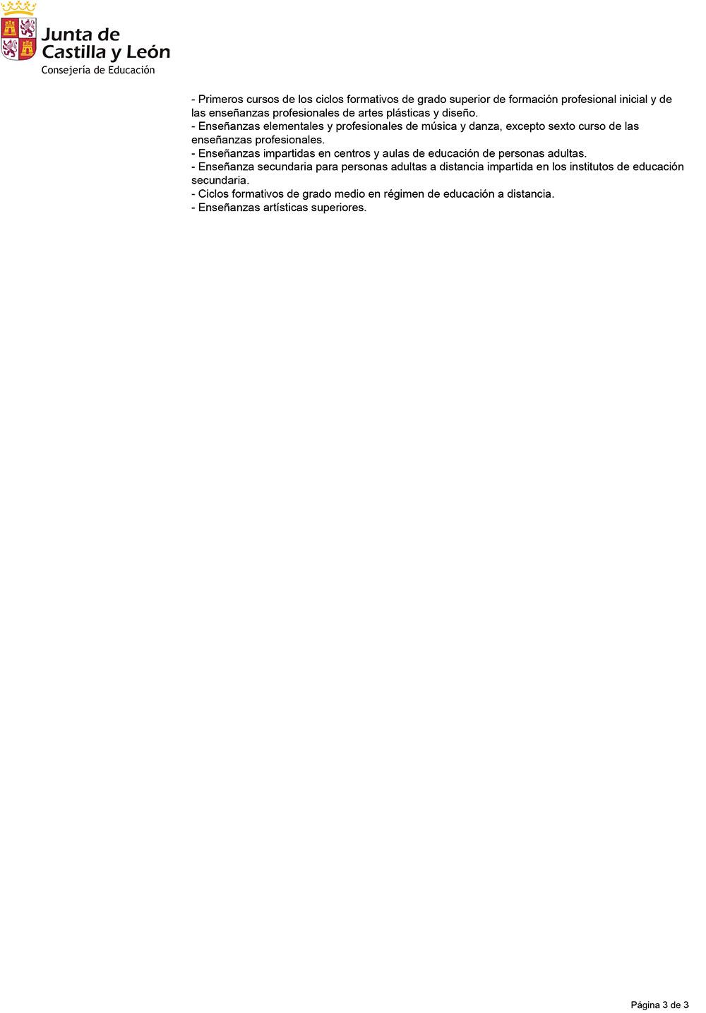 Así queda el Calendario Escolar 2019-2020 en Ponferrada y el Bierzo 4