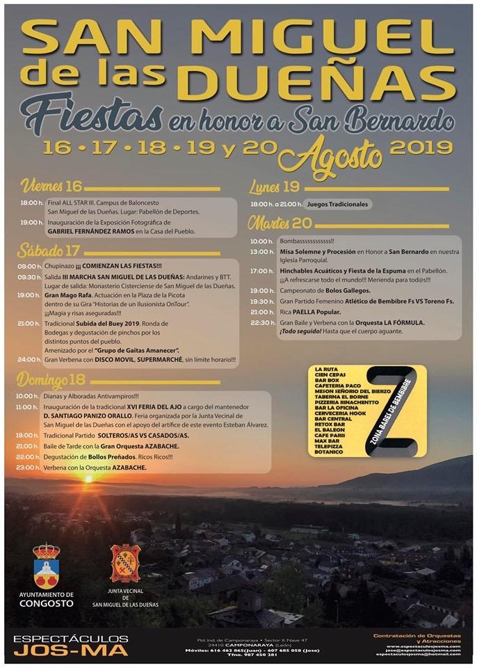 Planes de ocio en El Bierzo para el Puente. 15 al 18 de agosto 2019 27