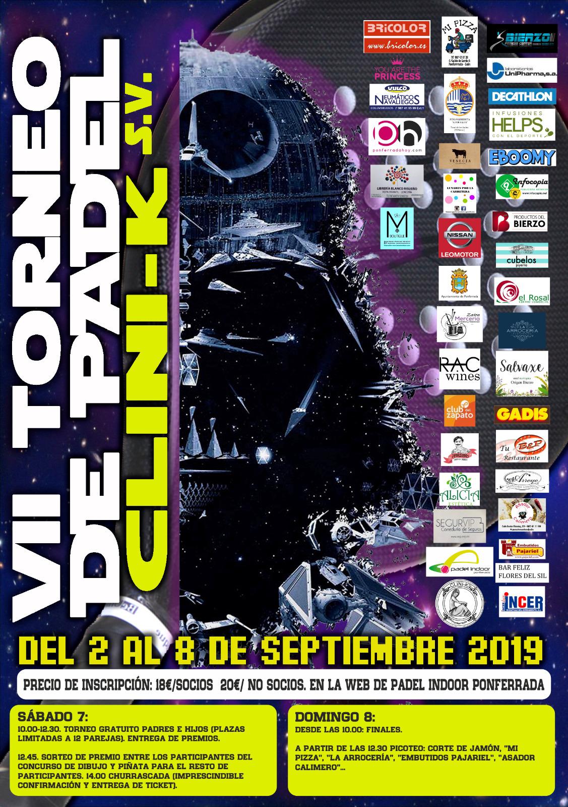 Llega la VII edición del Torneo de Pádel CLINI-K S.V. que se celebra durante la Encina 2019 2