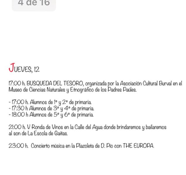 Fiestas del Cristo 2019 en Villafranca del Bierzo. Programa de actividades 2