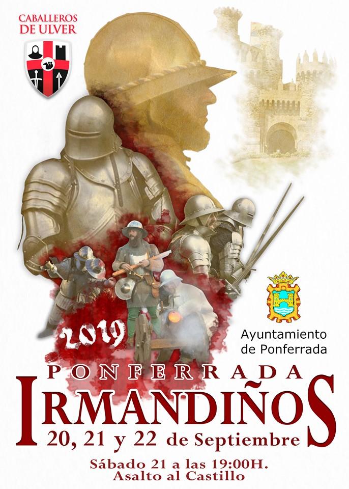 Las recreación de las Revueltas irmandiñas, trasladará el Castillo de Ponferrada al medievo el próximo fin de semana 2